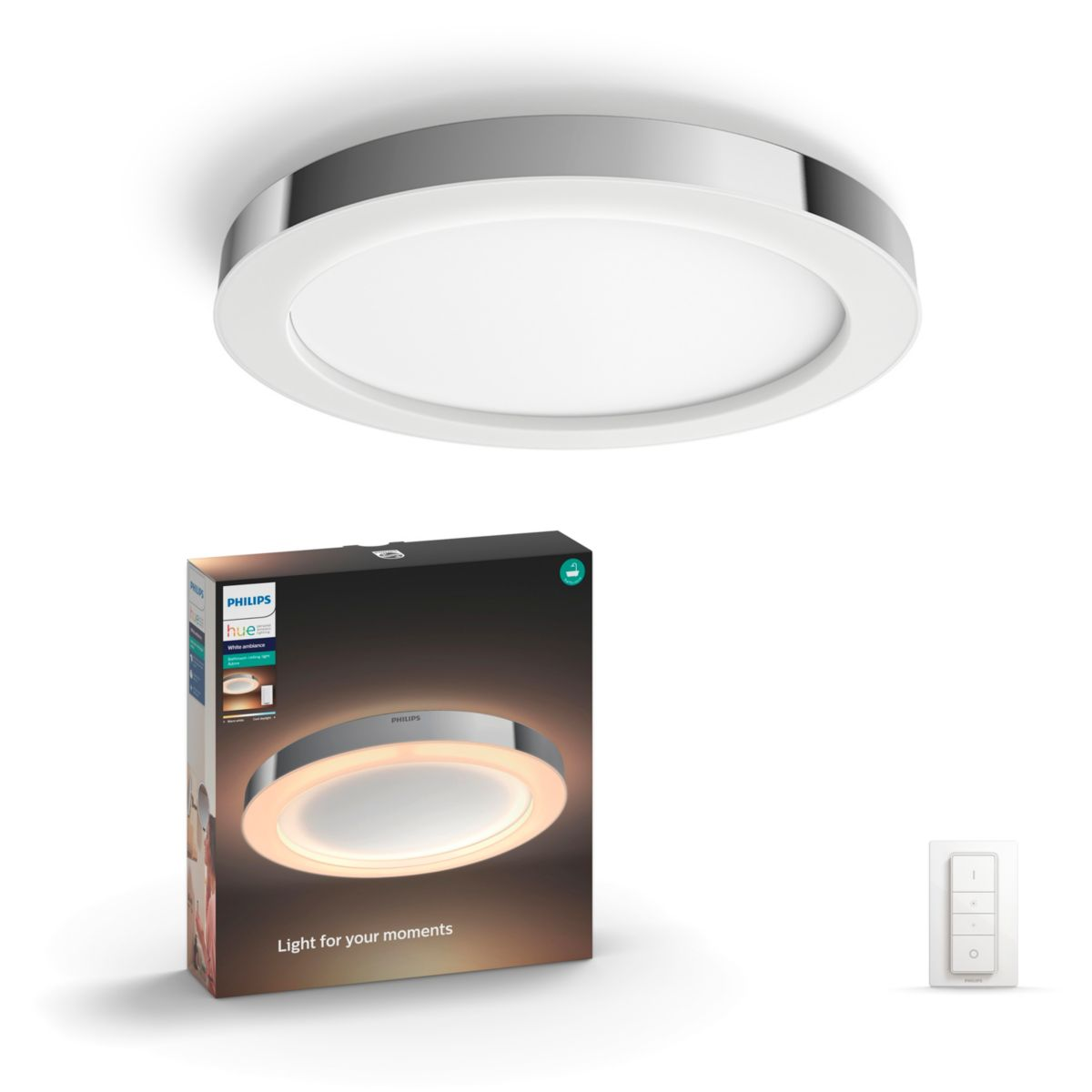 Hue White Ambiance Adore Bathroom Ceiling Light 3435011p7 Philips