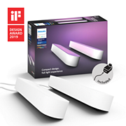 Hue White and Color Ambiance Hue Play pack x2