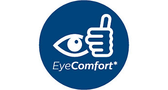 Designed for the comfort of your eyes
