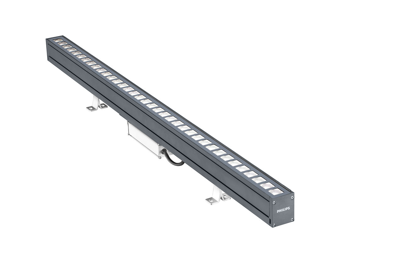 UniStrip G4 - Best in Class Linear LED Surface Mounted Luminaire for Exterior Fixed and Dynamic Architectural Lighting Applications