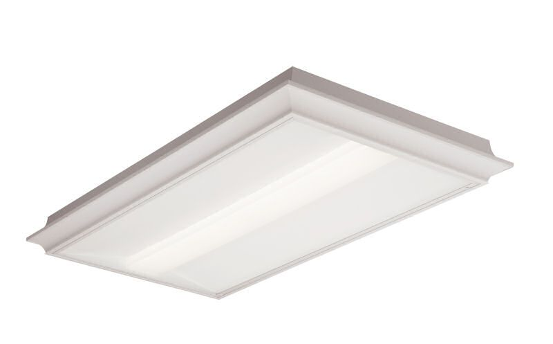 2x4, 7000 Nominal Delivered Lumens, 80 CRI, 4000K, Surface Mount, Diffuse (Smooth)