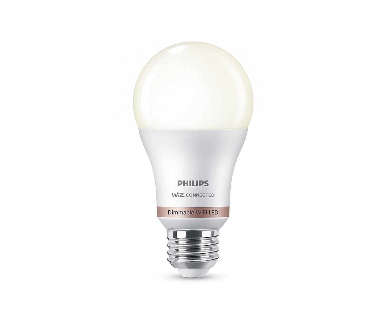 Easy-to-use smart dimmable bulb