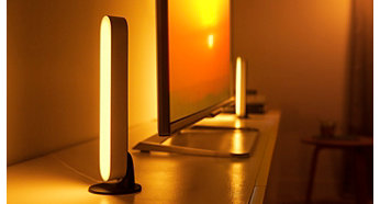 Συνδέστε 3 μπάρες φωτισμού Hue Play σε 1 πρίζα