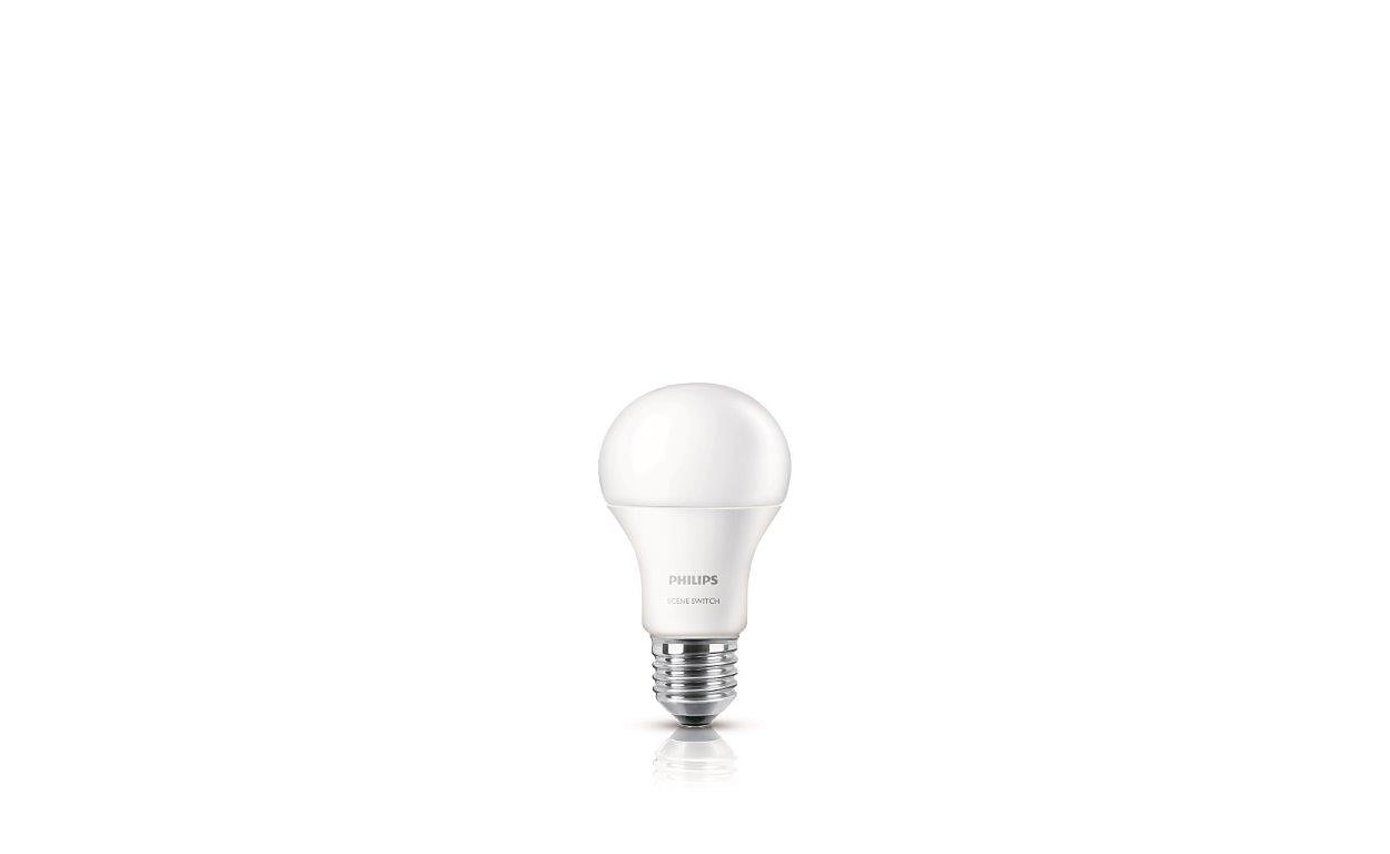 1 个灯泡可提供 3 种亮度