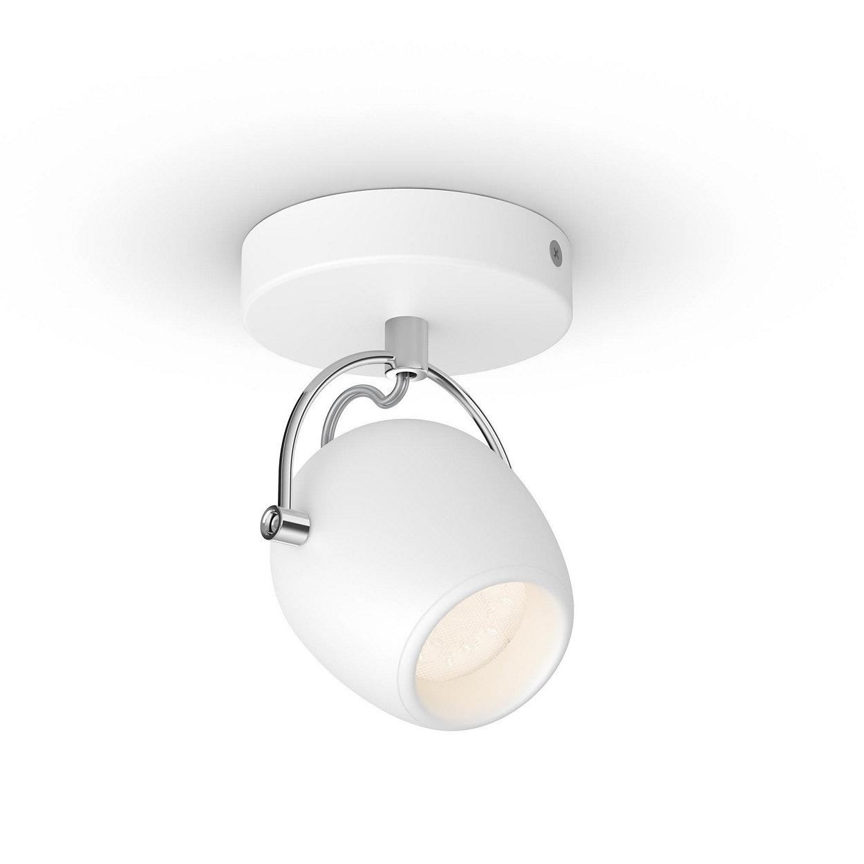Komfortabel LED belysning, som skåner øjnene.