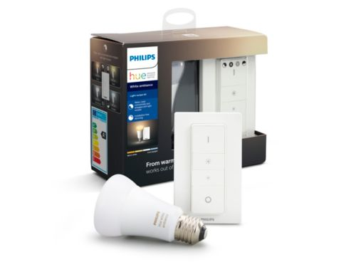 Hue White ambiance light recipe kit E27