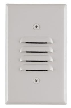 Mini Step Light, , Amber LEDs, Universal Louver, 120VAC