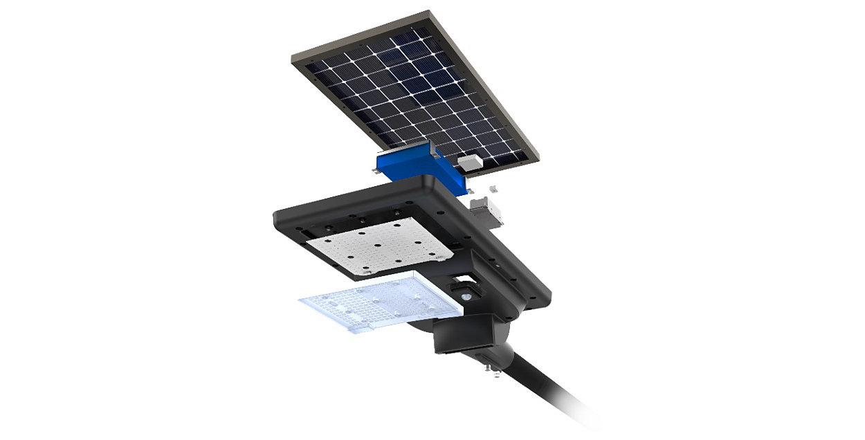 SunStay - All In One solar street light
