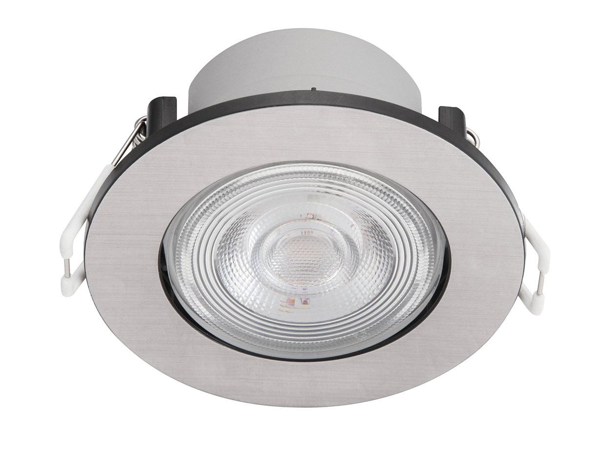 Jauki šviesos diodų šviesa, kuri nevargina akių