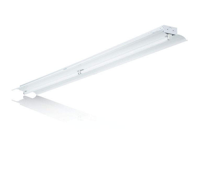 Aesthetic retail fluorescent Strip available with 1 lamps T5 or T8.