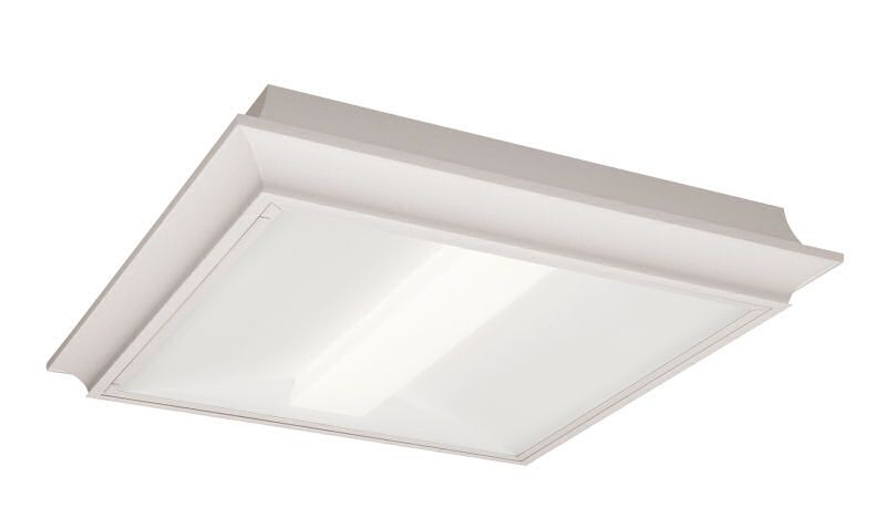 2x2, 3000 Nominal Delivered Lumens, 80 CRI, 4000K, Surface Mount, Diffuse (Smooth)