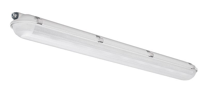 4', 5100 Nominal Lumens, 4000K, Wide Optic, Prismatic Acrylic Lens