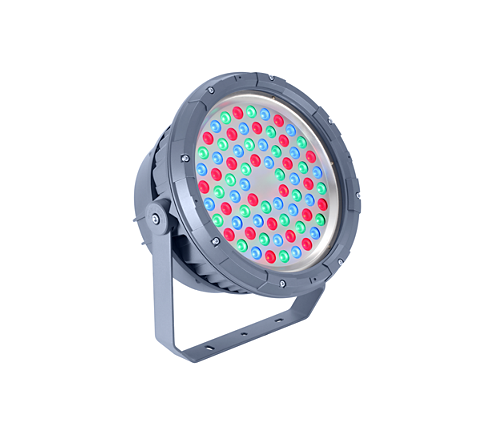BVP324 72LED RGB 220V 8 DMX