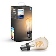 Hue White Einzelpack ST64 E27 Edison Lampe mit Glühdraht