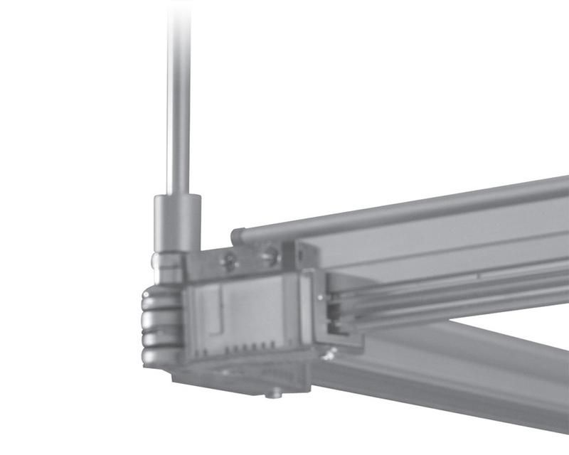 Tangent Suspension truss Beam Track 4' Clear Anodized
