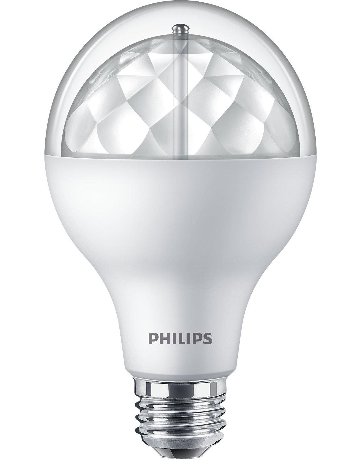 Alternativa de LED atrativa e regulável para as incandescentes populares.