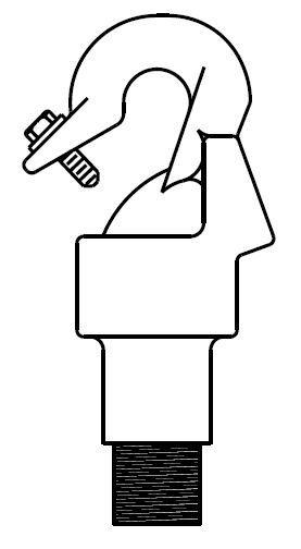 Suspension Hook Male