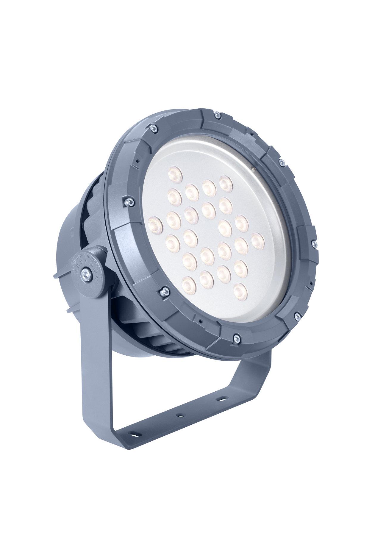 建築 LED 投射燈,固定或動態照明適用。