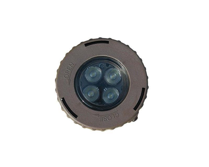 Inground, Ultem Micro w/ Lamp, Bronze, 20W MR16, 12V