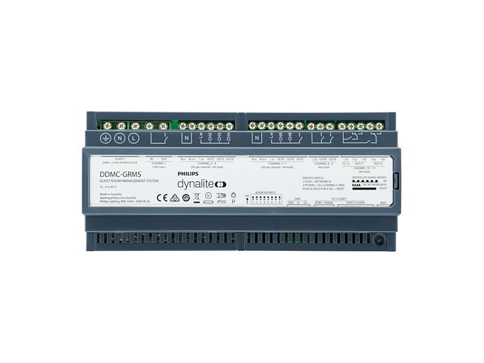 DDMC-GRMS Multipurpose Modular Room Controller front