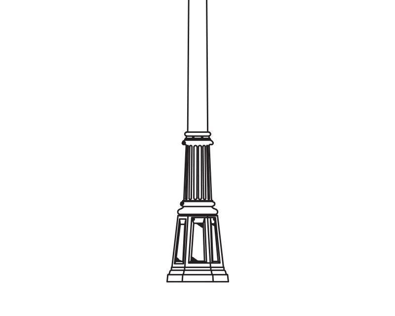 Anchor Base Post (325-)