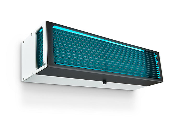 UV-C disinfection upper air Wall mounted version