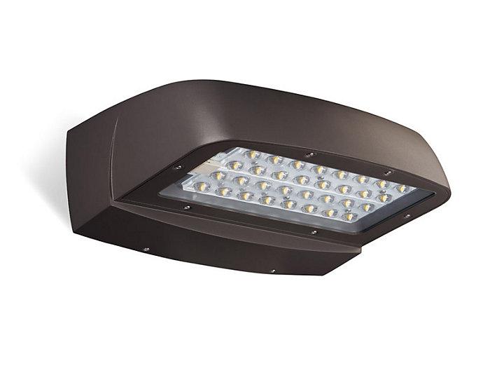 LED, 6913 lumens, 71W, 700mA, 4000K, 120-277V, Textured Bronze