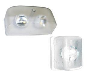 Symmetry Remote Lamp Head, 6V 7W Halogen Bi-pin, White Housing
