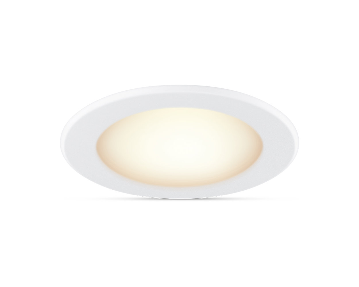 Easy-to-use smart tunable white downlight