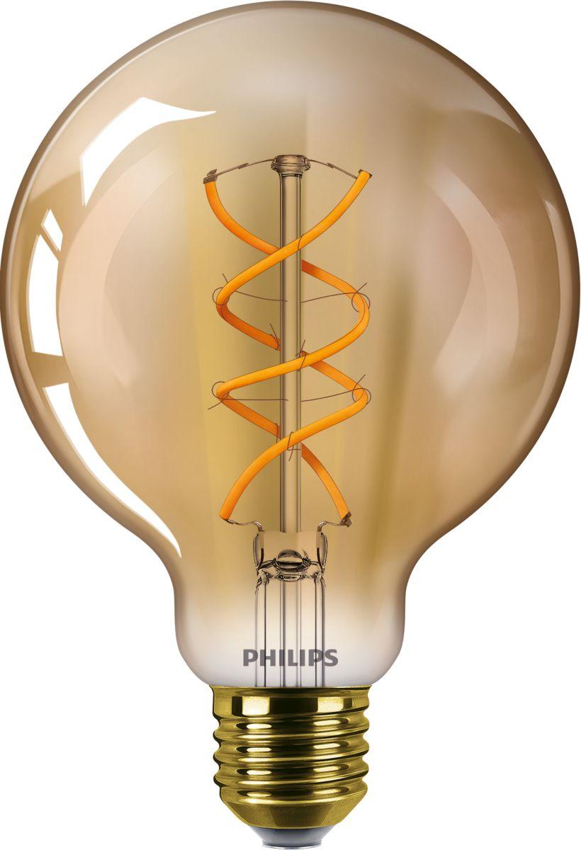 Mes Ampoules Led Scintillent ampoules led décoratives lampes led bulbs - philips
