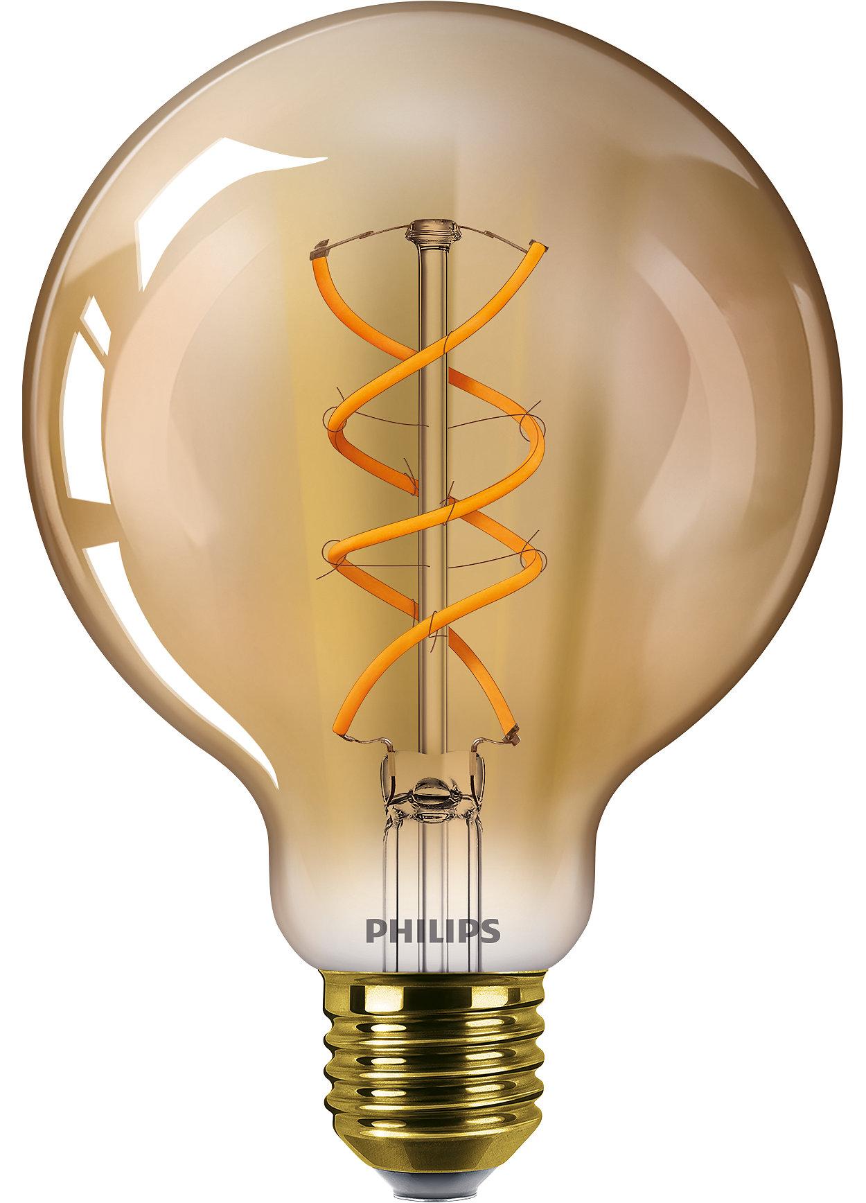 Conçues pour être vues, les lampes décoratives offrent un rendu agréable aussi bien allumées qu'éteintes