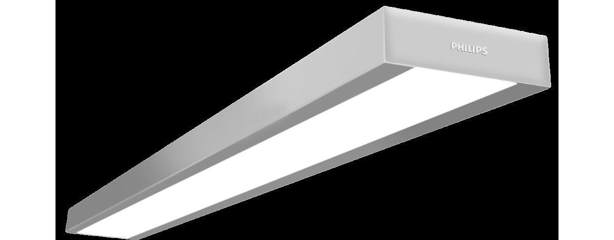 Continuous slim suspended linear office Luminire: Performanc and Elegance