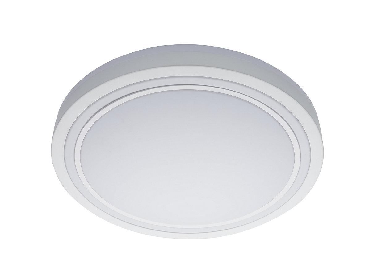 一盞燈具。切換開關即可營造三種照明設定。