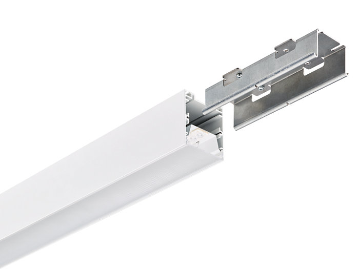 KeyLine white with coupling piece accessory for line mounting