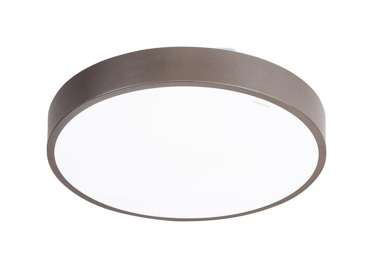 便捷易用的智能可调光 LED 吸顶灯