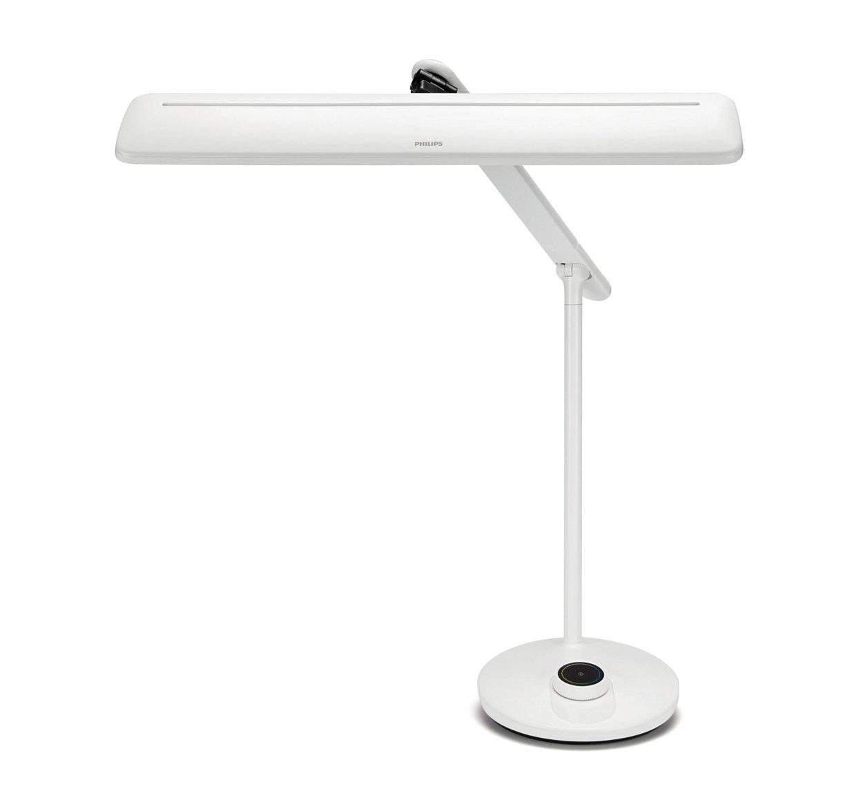 Với công nghệ EyeComfort, đèn mang đến ánh sáng êm dịu cho mắt