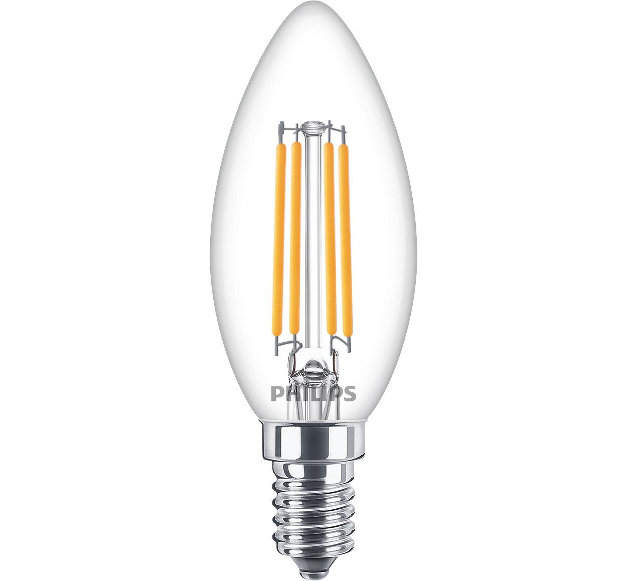 Lámparas clásicas LED de filamento para iluminación decorativa