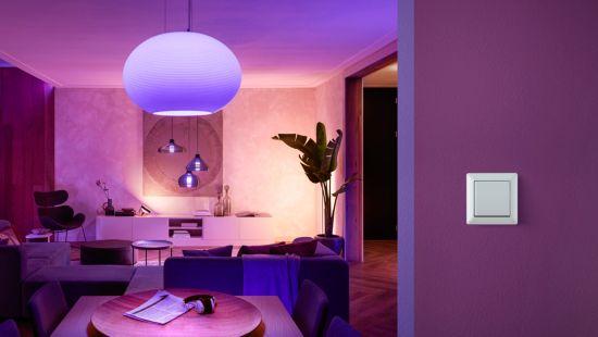 Styr belysning, rum eller zoner