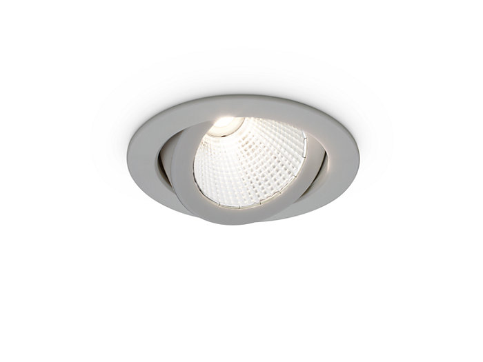 LuxSpace Accent Compact Adjustable Silver