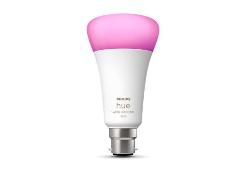 Hue White and Colour Ambiance 1-pack B22