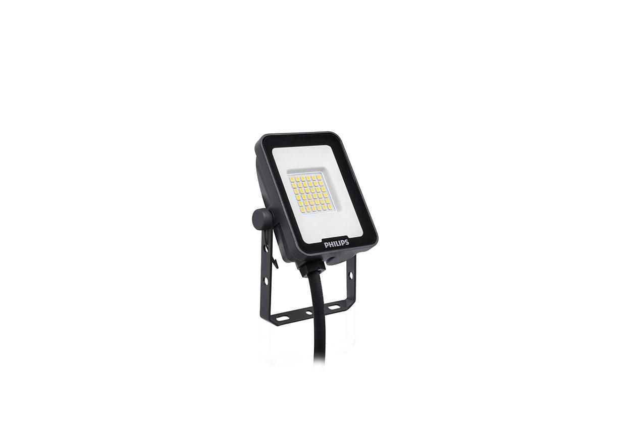 Effizient, zuverlässig, kompakt: Die optimale LED-Scheinwerfer-Serie für den Außenbereich