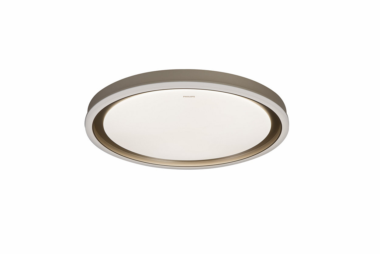 一個燈泡。切換開關即可有。三種照明設定。