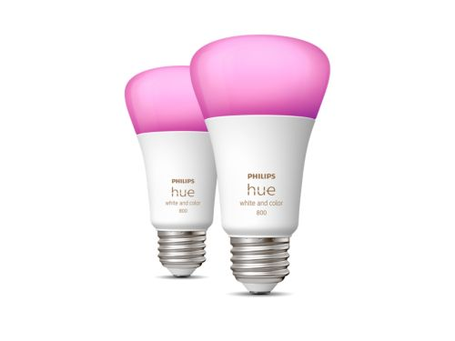 Hue White and color ambiance 2-pack E26