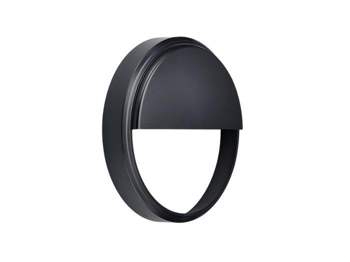 CoreLine Wall-mounted WL140V Half-moon Accessory Black