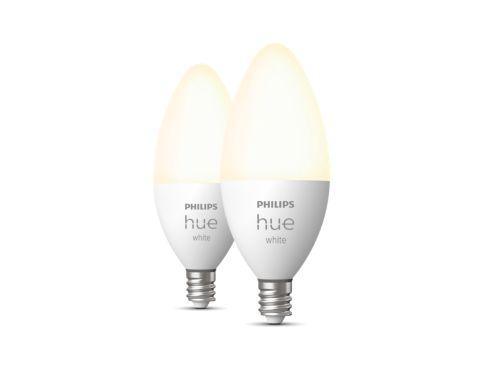 Hue White 2-pack E12