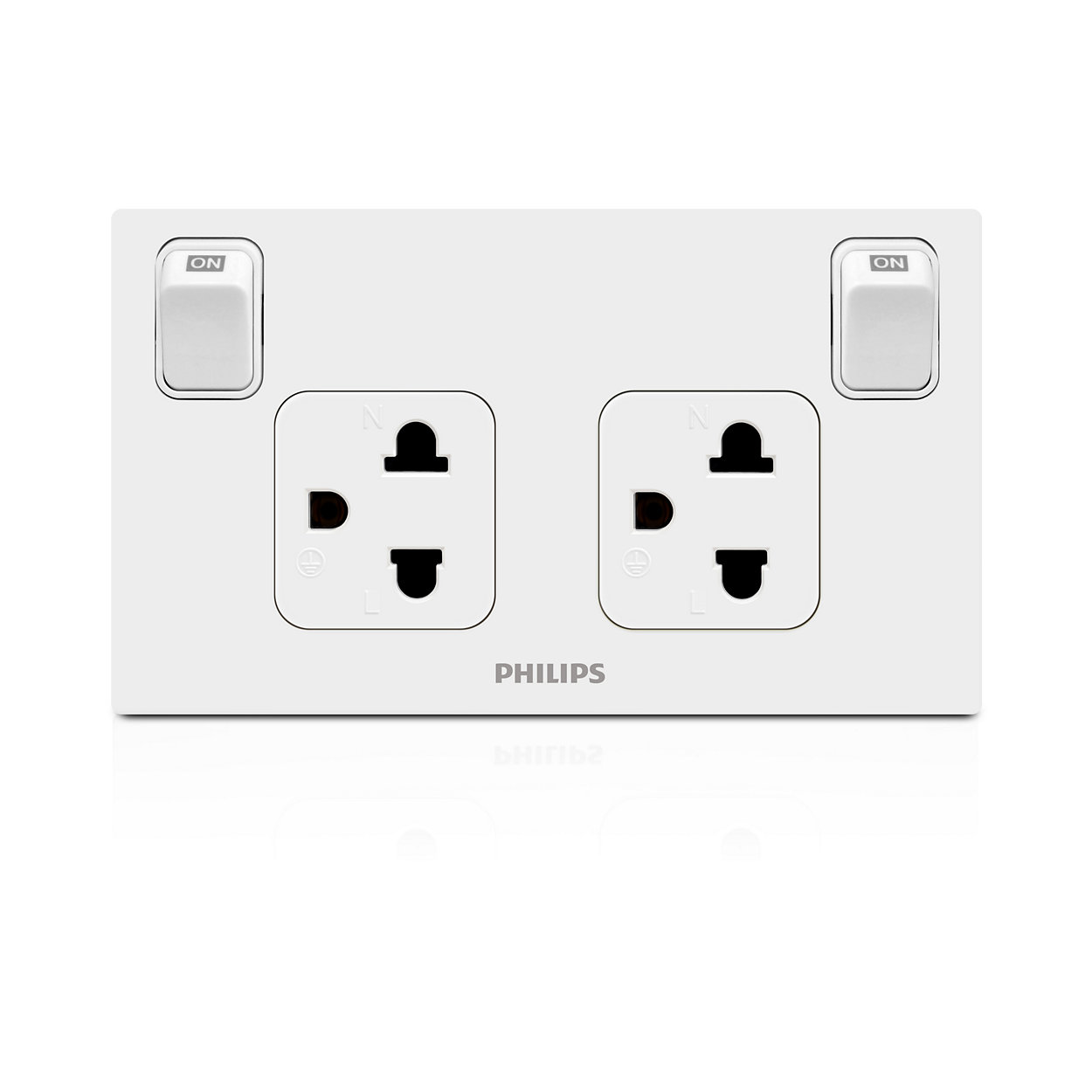High quality switch and socket designed to safely last for years
