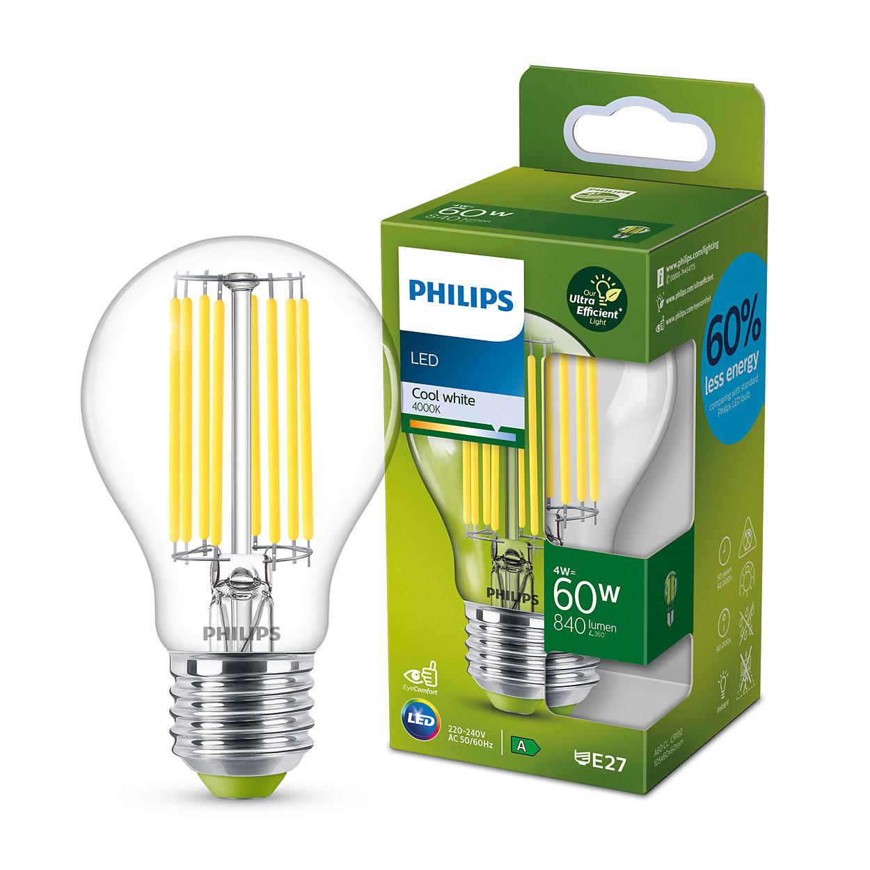 Klare LED-Kerzenlampen verleihen dem Zuhause Glanz