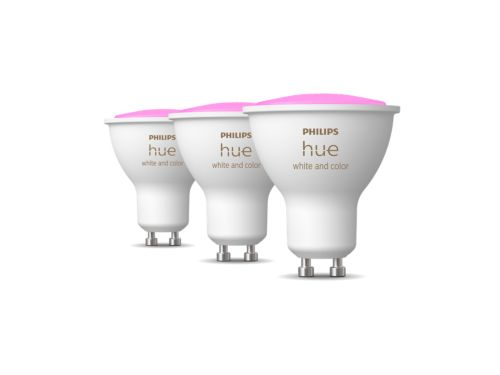 Hue White and Color Ambiance Pack de 3GU10