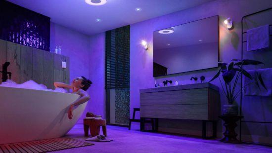 Lass mit farbigem, smartem Licht ein persönliches Erlebnis entstehen
