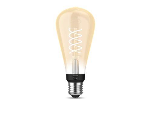 Philips Hue White Filament Lampe Einzelpack ST72 E27 Giant Edison Lampe mit Glühdraht